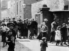 Mitchell and Kenyon 7: Mill Workers Leaving Oldroyd and Sons Mill, Dewsbury (1900)
