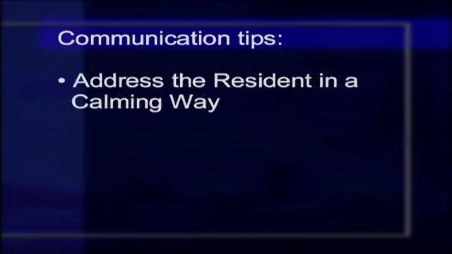 Dementia Care III: Understanding & Managing Difficult Behavior:  Communication Tips