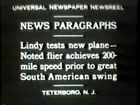 Universal Newsreels, Release 96, November 27, 1930